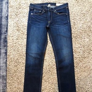 Rag & bone blue jeans